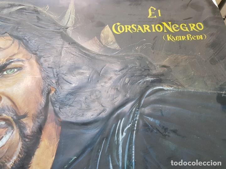 Cine: Cartel El Corsario Negro de pvc en relieve raro - Foto 5 - 177075858