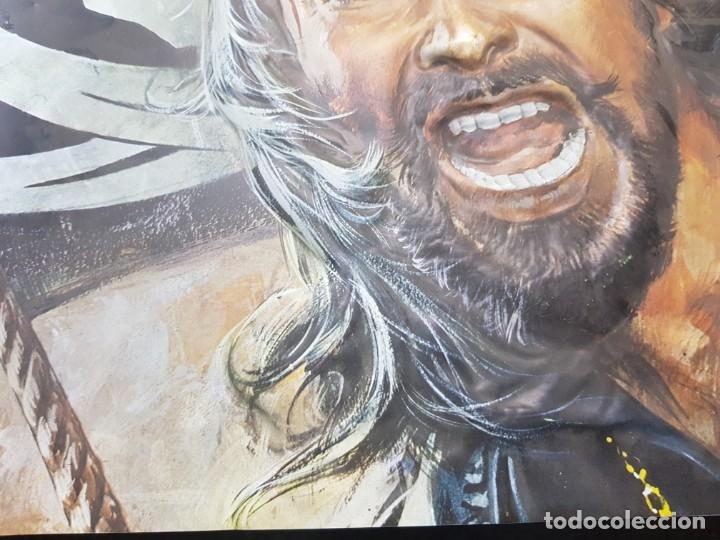 Cine: Cartel El Corsario Negro de pvc en relieve raro - Foto 6 - 177075858
