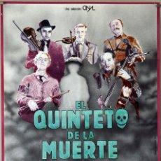 Cine: EL QUINTETO DE LA MUERTE. ALEC GUINNES-PETER SELLERS. CARTEL ORIGINAL 1981. 70X100. Lote 177262534