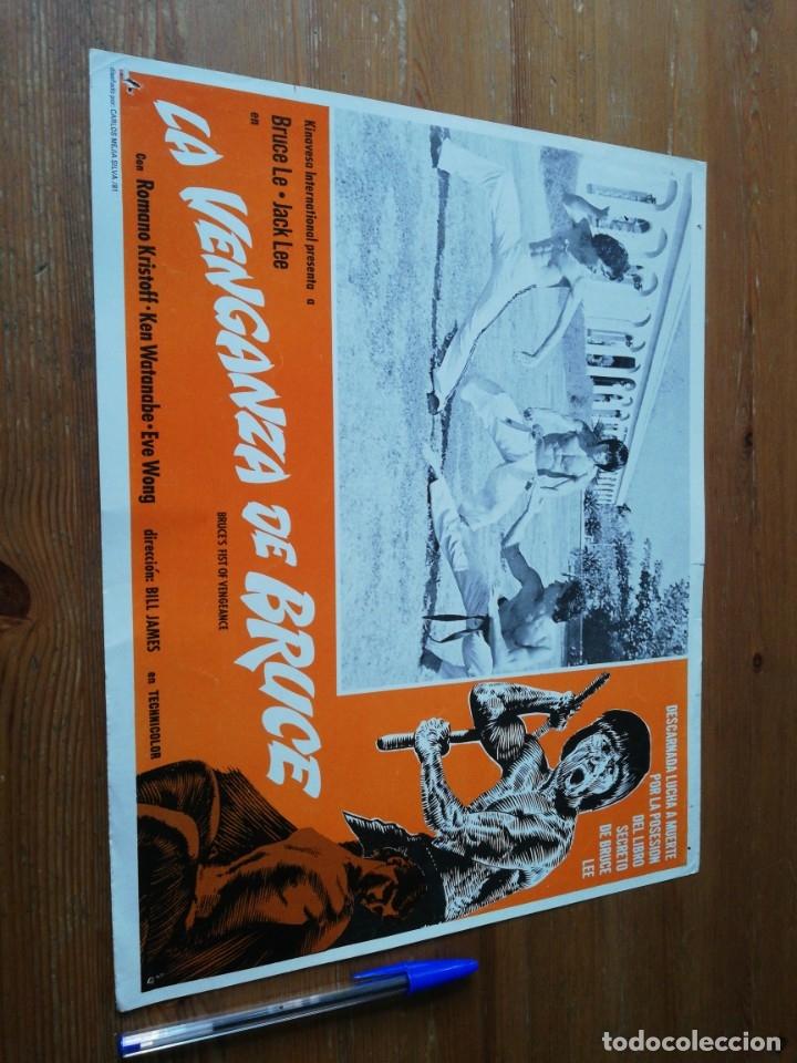 CARTEL DE PELÍCULA LA VENGANZA DE BRUCE. (Cine - Posters y Carteles - Aventura)