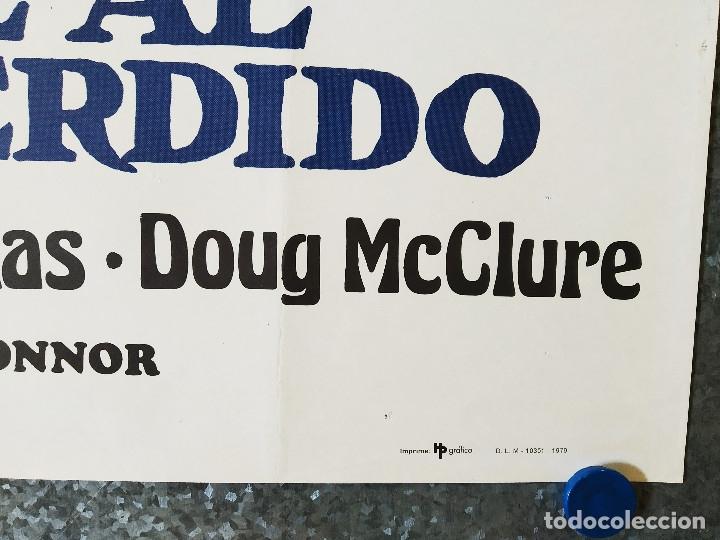 Cine: Viaje al mundo perdido. Patrick Wayne, Doug McClure AÑO 1979. POSTER ORIGINAL - Foto 4 - 177300173
