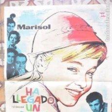 Cine: POSTER CARTEL HA LLEGADO UN ANGEL MARISOL. 1963. Lote 177325074