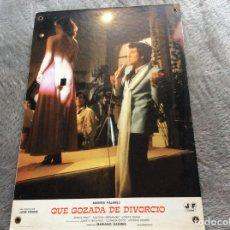 Cine: EUE GOZADA DE DIVORCIO, POR ANDRÉS PAJARES, JUANITO NAVARRO, ANTONIO OZORES, ETC.. Lote 177332375