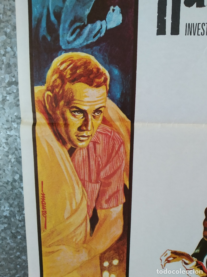 Cine: Harper, investigador privado. Paul Newman, Lauren Bacall, Julie Harris AÑO 1976. POSTER ORIGINAL - Foto 6 - 177369062