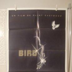 Cinéma: CARTEL CINE ORIG ESTRENO BIRD (1988) CLINT EASTWOOD. Lote 177489580