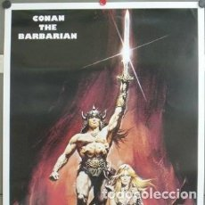Cine: E672 CONAN EL BARBARO ARNOLD SCHWARZENEGGER POSTER 70X100. Lote 177559700