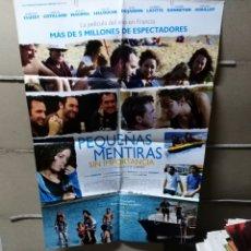 Cine: PEQUEÑAS MENTIRAS SIN IMPORTANCIA POSTER ORIGINAL 70X100 Q. Lote 186374323