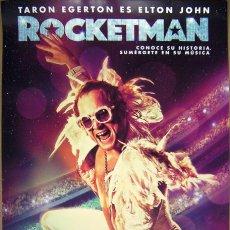 Cine: CINE CARTEL PELICULA ROCKETMAN 30X42 CM ELTON JOHN. Lote 177720253