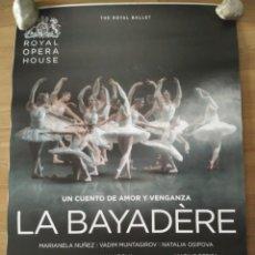 Cinema: OPERA: LA BAYADERE - APROX 70X100 CARTEL ORIGINAL CINE (L69). Lote 177842099