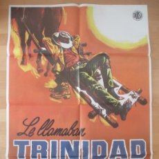 Cine: CARTEL CINE, LE LLAMABAN TRINIDAD, TERENCE HILL, BUD SPENCER, 1979, C1261. Lote 177889880