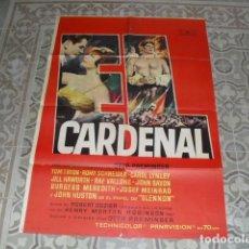 Cine: CARTEL ORIGINAL - PELÍCULA EL CARDENAL - AÑO 1964 - 100X70 CMS.APROX.. Lote 177894135