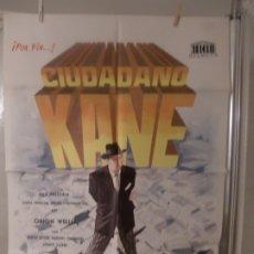 Cine: CARTEL CINE ORIGINAL ESTRENO CIUDADANO KANE (1941) JOSEPH COTTEN / ORSON WELLES / JANO. Lote 177960162
