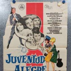 Cine: JUVENTUD ALEGRE Y LOCA. MYLÈNE DEMONGEOT, CHARLES AZNAVOUR, JOHNNY HALLYDAY, SYLVIE VARTAN AÑO 1964. Lote 177997512
