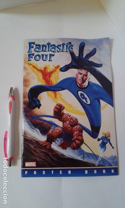 FANTASTIC FOUR, LOS CUATRO FANTASTICOS, POSTER BOOK LIBRO. MARVEL 2004 (Cine - Posters y Carteles - Acción)