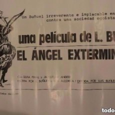 Cine: CARTEL POSTER CINE EL ANGEL EXTERMINADOR DE LUIS BUÑUEL. Lote 178121065