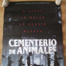 Cine: CEMENTERIO DE ANIMALES - APROX 70X100 CARTEL ORIGINAL CINE (L70). Lote 178155719