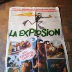 Cine: POSTER PELÍCULA LA EXPLOSIÓN . Lote 178171761