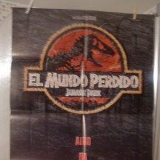 Cine: CARTEL CINE ORIGINAL ESTRENO EL MUNDO PERDIDO (JURASSIC PARK) (1996) STEVEN SPIELBERG. Lote 178289070