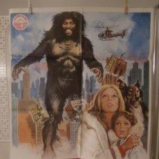 Cine: CARTEL CINE ORIGINAL ESTRENO YETI EL ABOMINABLE HOMBRE DE LAS NIEVES (1977) GIANFRANCO PAROLINI. Lote 178330295
