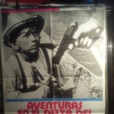 Cinema: CARTEL DE CINE: AVENTURAS EN EL DELTA DEL DANUBIO. Lote 178343103