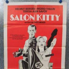 Cine: SALON KITTY. HELMUT BERGER, INGRID THULIN, TERESA ANN SAVOY. AÑO 1978. POSTER ORIGINAL . Lote 178588576