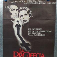 Cine: LA PROFECIA. GREGORY PECK, LEE REMICK AÑO 1978. POSTER ORIGINAL. Lote 178591295