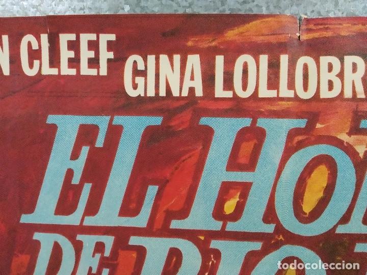 Cine: El hombre de Río Malo. Lee Van Cleef, James Mason, Gina Lollobrigida AÑO 1972. POSTER ORIGINAL. - Foto 3 - 178594361