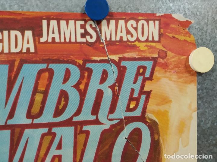 Cine: El hombre de Río Malo. Lee Van Cleef, James Mason, Gina Lollobrigida AÑO 1972. POSTER ORIGINAL. - Foto 4 - 178594361