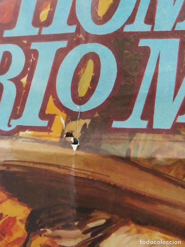 Cine: El hombre de Río Malo. Lee Van Cleef, James Mason, Gina Lollobrigida AÑO 1972. POSTER ORIGINAL. - Foto 6 - 178594361