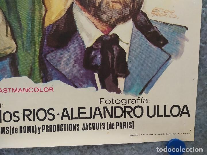 Cine: El hombre de Río Malo. Lee Van Cleef, James Mason, Gina Lollobrigida AÑO 1972. POSTER ORIGINAL. - Foto 7 - 178594361