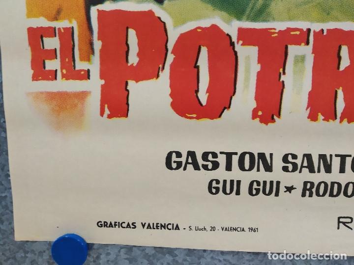 Cine: El potro salvaje. Gastón Santos, Lilia Martínez 'Gui-Gui' AÑO 1961. POSTER ORIGINAL - Foto 5 - 178599285
