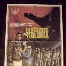 Cine: ELEGIDOS PARA LA GLORIA, 1984, TAMAÑO GRANDE 70 X 100 CM APROX. Lote 178660596