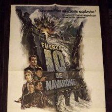 Cine: FUERZA 10 DE NAVARONE, 1982, TAMAÑO GRANDE 70 X 100 CM APROX. Lote 178660927