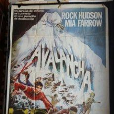 Cine: AVALANCHA ROCK HUDSON MÍA FARROW. Lote 178676611
