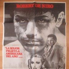 Cine: CARTEL CINE, TORO SALVAJE, ROBERT DE NIRO, 1980, C1280. Lote 178871245