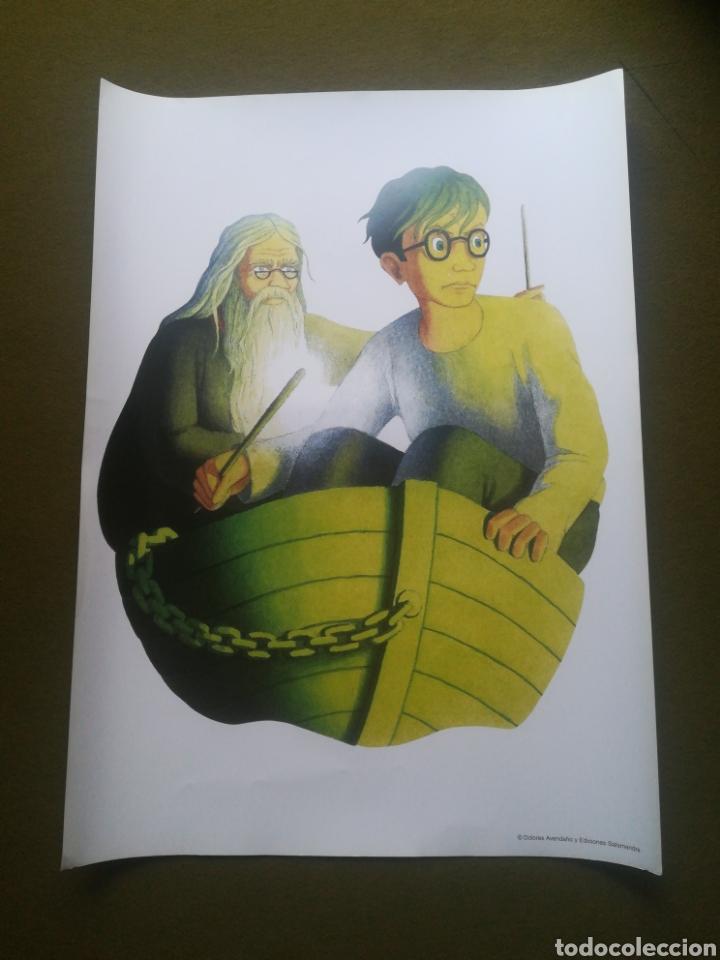 HARRY POTTER Y EL MISTERIO DEL PRÍNCIPE PÓSTER LÁMINA DOLORES AVENDAÑO (Cine - Posters y Carteles - Ciencia Ficción)