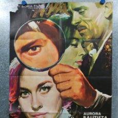 Cine: LAS RATAS. AURORA BAUTISTA, ALFREDO ALCÓN, BÁRBARA MUJICA. AÑO 1966 POSTER ORIGINAL. Lote 178903780