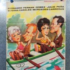 Cine: LA MUJER DE TU PROJIMO. FERNANDO F GOMEZ, JULIO PEÑA, SUSANA CANALES. AÑO 1963 POSTER ORIGINAL. Lote 178904312