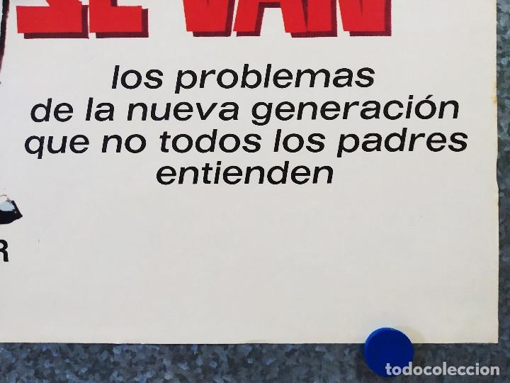 Cine: Cuando los hijos se van. Amparo Rivelles, Fernando Soler. AÑO 1970. POSTER ORIGINAL - Foto 4 - 178906491