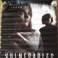 Cine: VULNERABLES - APROX 70X100 CARTEL ORIGINAL CINE (L71). Lote 178912495
