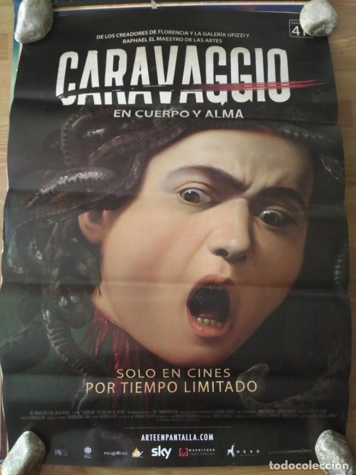 CARAVAGGIO - APROX 70X100 CARTEL ORIGINAL CINE (L70) (Cine - Posters y Carteles - Musicales)