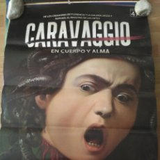 Cine: CARAVAGGIO - APROX 70X100 CARTEL ORIGINAL CINE (L70). Lote 178986898