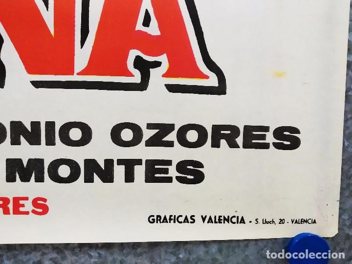 Cine: Su alteza la niña. Estrellita, José Luis Ozores, Antonio Ozores AÑO 1962. POSTER ORIGINAL - Foto 4 - 179144983