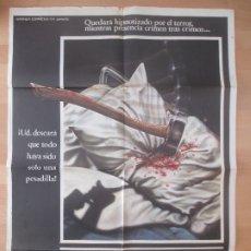 Cine: CARTEL CINE, VIERNES 13, BETSY PALMER, 1980, C791. Lote 179161752