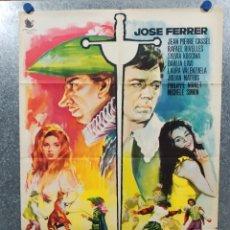 Cine: CYRANO Y D'ARTAGNAN. JOSE FERRER, JEAN PIERRE CASSEL, SYLVIA KOSCINA, RAFAEL RIVELLES. AÑO 1964. Lote 179172820