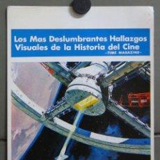 Cine: AAV36 2001 UNA ODISEA EN EL ESPACIO STANLEY KUBRICK ARTHUR C. CLARKE POSTER ORIGINAL ESTRENO 24X36. Lote 261795805