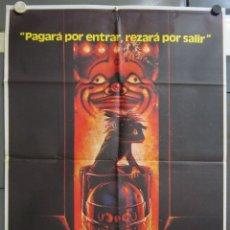 Cine: ZW73 LA CASA DE LOS HORRORES TOBE HOOPER TERROR POSTER ORIGINAL 70X100 ESTRENO. Lote 179541027