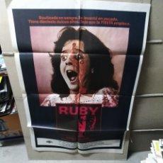 Cine: RUBY POSTER ORIGINAL 70X100 YY (2172). Lote 179545302