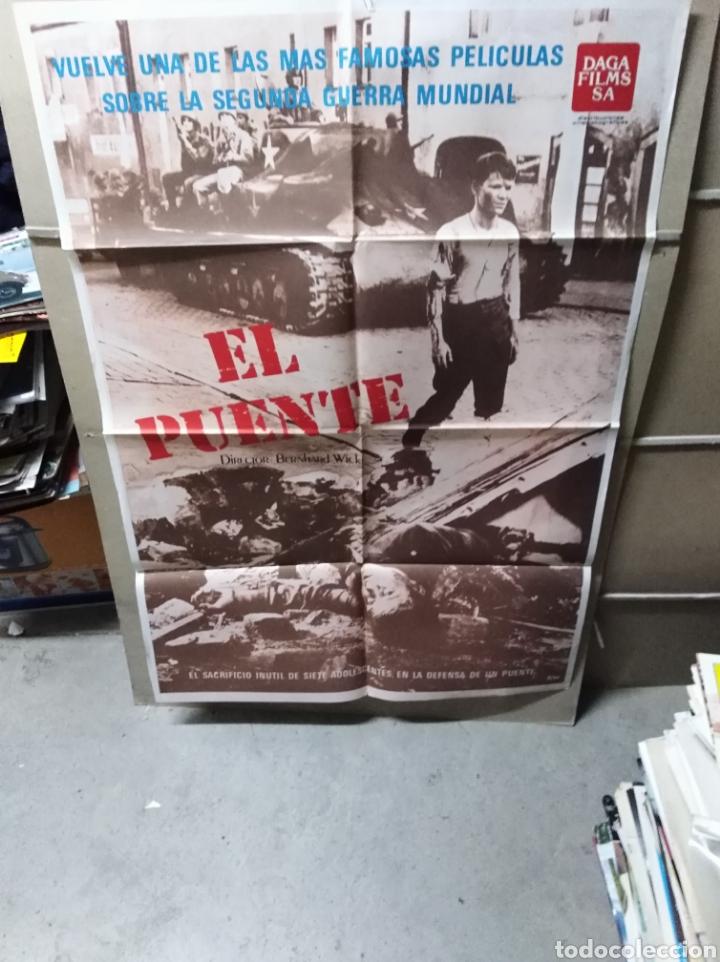 EL PUENTE BERNHARD WICK POSTER ORIGINAL 70X100 YY (2173) (Cine - Posters y Carteles - Bélicas)