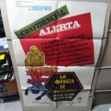 Cine: LA AMENAZA DE ANDROMEDA ROBERT WISE POSTER ORIGINAL 70X100 YY (2178). Lote 179959340